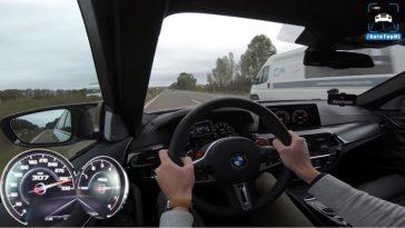 BMW M5 Competition Topsnelheid