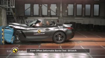 BMW Z4 Crashtest