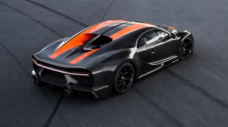 Bugatti Chiron 490 kmh