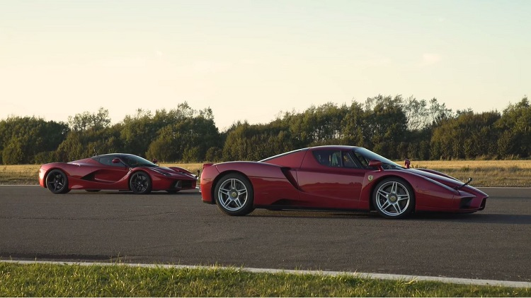 Ferrari Enzo vs LaFerrari