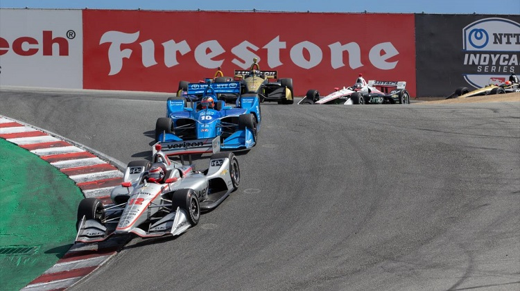 IndyCar Laguna Seca Highlights