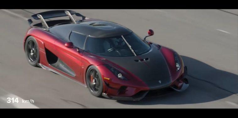 Koenigsegg Regera doet 0-400-0 in 31,49 sec