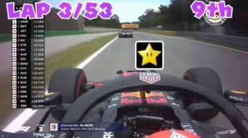 Mario Kart F1-editie van Italiaanse Grand Prix