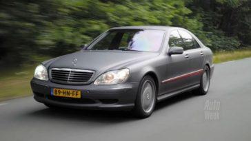 Mercedes-Benz S55 AMG met 284.895 km