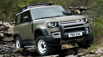 Nieuwe Land Rover Defender