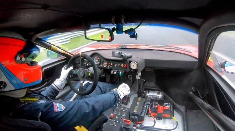 Onboard Ferrari 512 BBLM tijdens pole lap op Monza