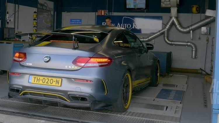 Op de Rollenbank - Mercedes-AMG C63 S by Renntech