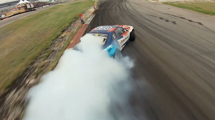 Perfecte run in Formula Drift