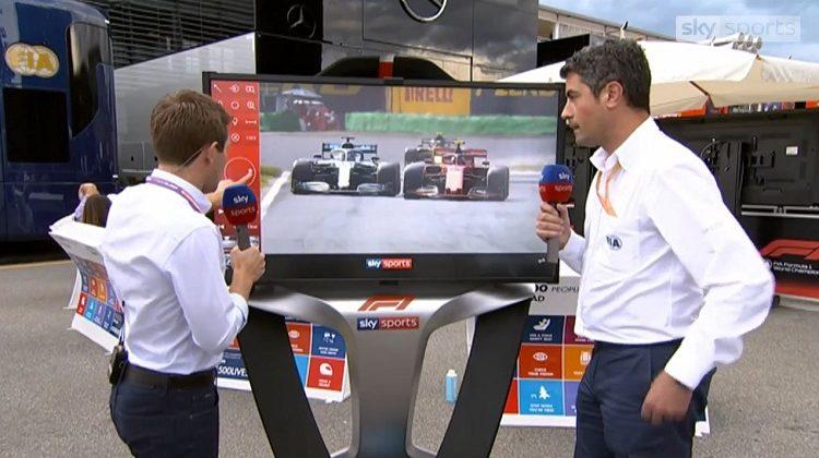 Sky Sports en Michael Masi analyseren race-incidenten
