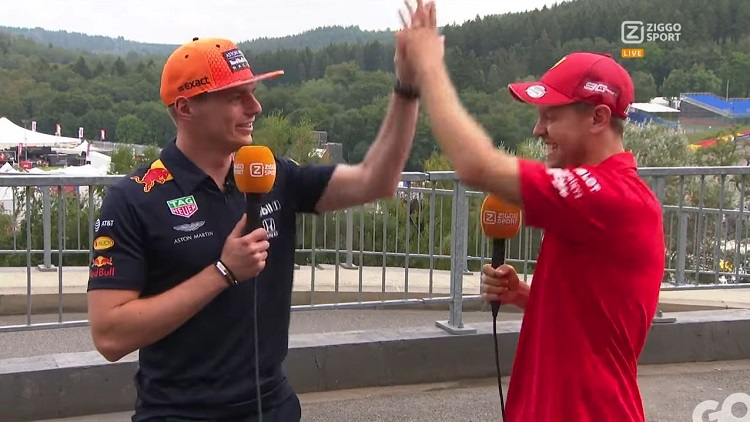 True or False met Verstappen en Vettel