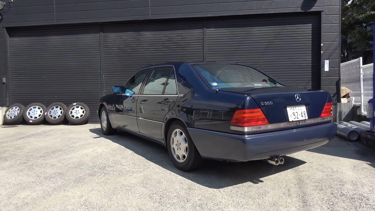 YouTuber heeft Brilliant Exhaust gekocht voor zijn Mercedes S600