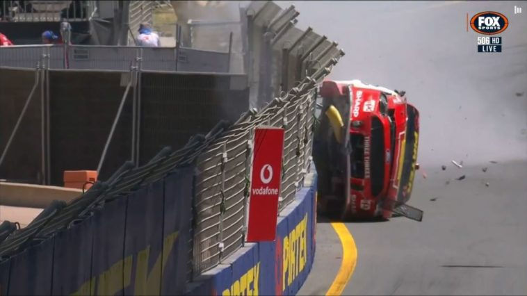 Crash Scott McLaughlin Gold Coast 600