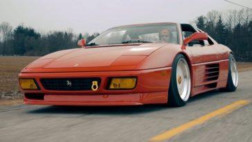 Ferrari 348ts met luchtvering