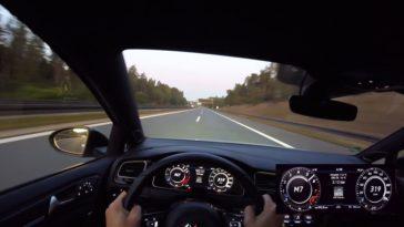 HGP Golf 7 R blaast naar 319 kmh
