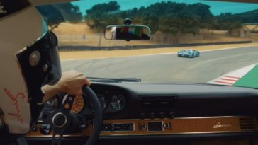 Hot Lap in een Singer 911 op Laguna Seca