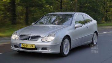 Klokje Rond - Mercedes-Benz C-coupé met 510.559 km