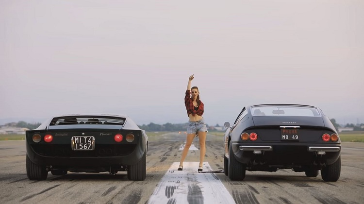 Lamborghini Miura S Millechiodi vs Ferrari 365 GTB4 Daytona