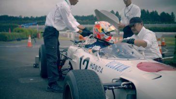 Max Verstappen probeert Honda RA272
