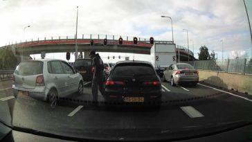 Meningsverschil in het verkeer loopt uit de hand