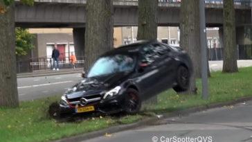 Mercedes-AMG C63 S vs Boom