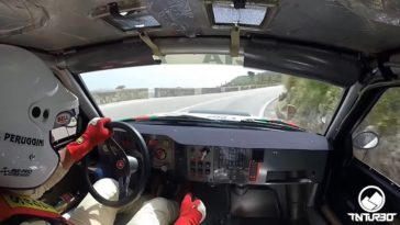 Onboard Lancia Delta S4 op Monte Erice Hillclimb