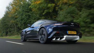 Review van de Aston Martin Vantage AMR