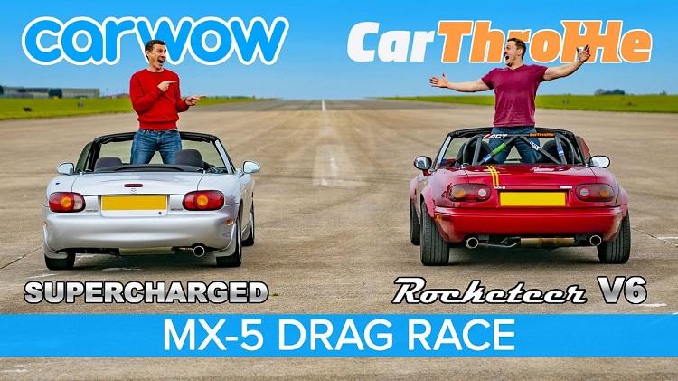 V6 MX-5 vs Supercharged MX-5
