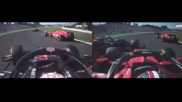 Verstappen & Leclerc touche