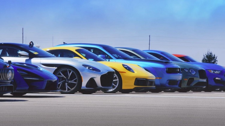 World's Greatest Supercar Drag Race 2019