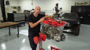 Zie hoe een 1000 pk Toyota Supra B58-motor wordt gemonteerd