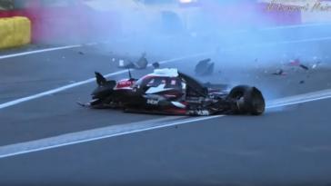 Zware crash in Raidillon tijdens ELMS 4H van Spa