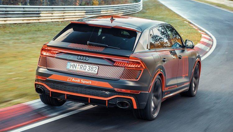 Audi RS Q8 verbreekt SUV-record op Nürburgring