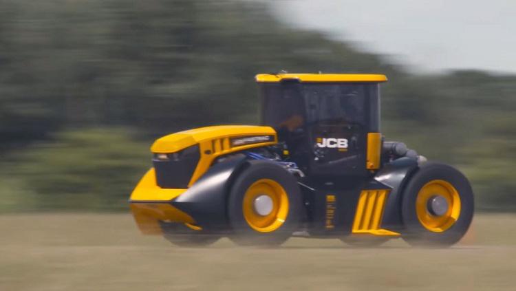 De snelste tractor ter wereld