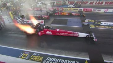 Dit is de snelste Top Fuel Dragster run aller tijden