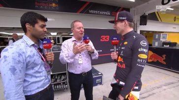Interview Max Verstappen na zege GP Brazilië
