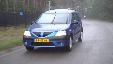 Klokje Rond - Dacia Logan MCV met 435.844 km