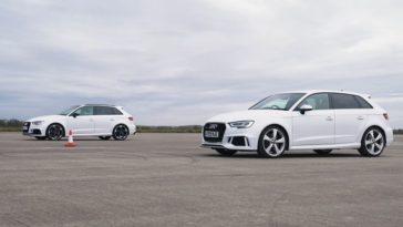 2017 Audi RS3 vs 2019 Audi RS3 - Maakt WLTP verschil.