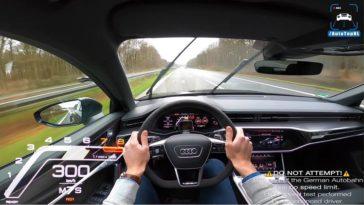 2020 Audi RS6 C8 naar topsnelheid