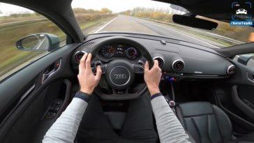 Audi RS3 naar 310 kmh