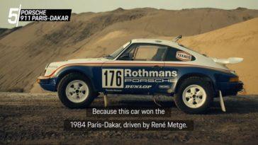 De 5 meest legendarische rallyauto's van Porsche