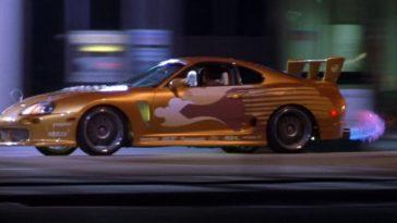 De Toyota Supra uit 2 Fast 2 Furious