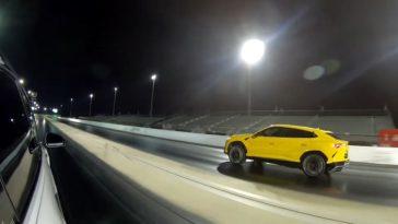 Getunede Lamborghini Urus vs Tesla Model X P100D