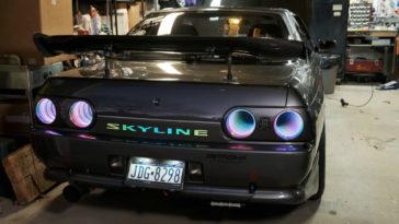 INFINITY MIRROR Tail lights R32 SKYLINE