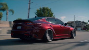 Kia Stinger widebody