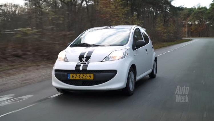 Klokje Rond - Peugeot 107