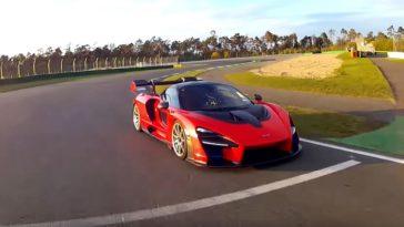 McLaren Senna is de snelste productieauto ooit op Hockenheim GP Circuit