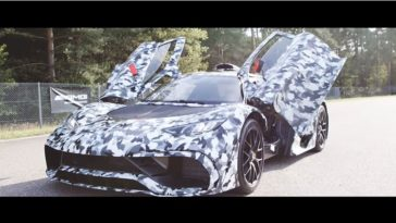 Mercedes-AMG Project One in actie
