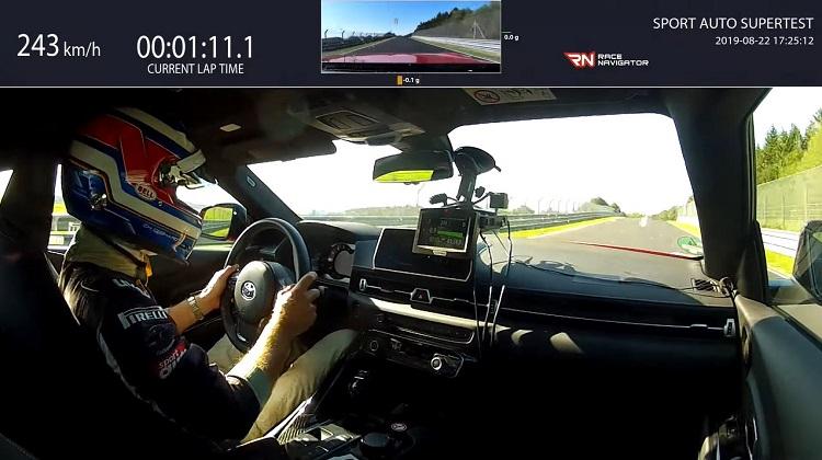 Nieuwe Toyota Supra klokt Nordschleife in 7.52 min