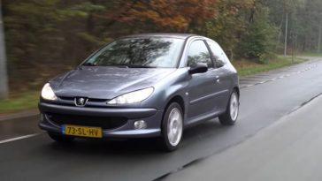 Peugeot 206 1.6 met 465.296 km