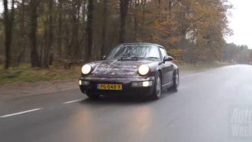 Porsche 911 Carrera 4 Targa met 461.615 km